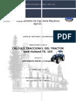 Calculo Traccional de Tractores