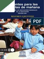 Indices Mundiales Educación 2001-OCDE
