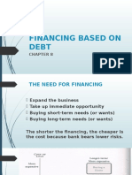 Chap 8 - Financing Based on Debt