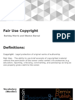 fair use - copyright presentation