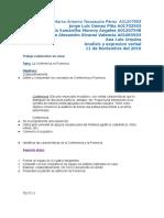 conferencia vs ponencia