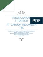 Perencanaan Strategis Garuda Indonesia