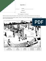 Appendix Worksheets