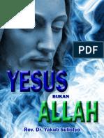 Yesus Bukan Allah