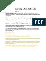 34 Macam Suku Yang Ada Di Indonesia