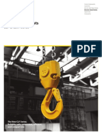 Podem - Electric Chain Hoists - CLF & CLW (en)