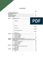 Daftar Isi laporan kp