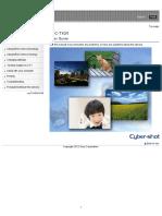 Dsc-tx20 Guide En