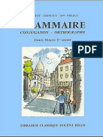 Grammaire Conjugaison Orthographe CM1 Berthou Gremaux Voegele