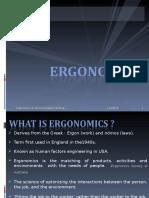Ergonomics Introduction