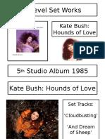 Kate Bush Lessons 1-2