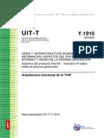 IUT-T Y.1910 - IPTV