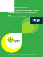 Enabling Enterprise to Implement Mobility Strategy Using an Unorthodox Approach
