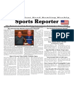 November 30 - December 6, 2016  Sports Reporter