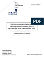 Imppppp2010 Memoire M2 Logistique - POIRET Nicolas IMPORTANNNNNNNT
