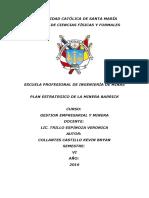 Plan Estratégico de Minera Barrick.doc