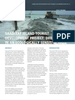 Dredging and Reclamation Works