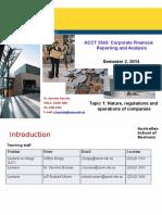 LectureTopic 1 Intro to Corp Fin Rep