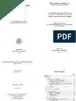 Catequética. Jungmann, Josef Andreas