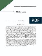 Hittite Laws