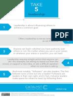Take5 Leadership Fordownload