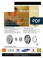 Beacon One - One Page Presentation