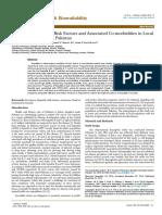 Hepatitis Prevalence Risk Factors and Associated Comorbidities in Local Population of Karachi Pakistan Jbb.1000213