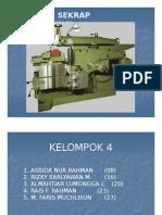 (PPt) Materi 4. Proses Sekrap (Shaping).pptx