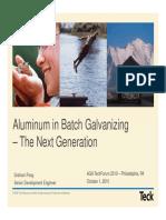 Aluminum in Galvanizing Graham Poag