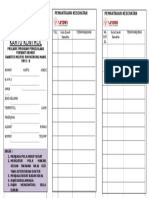 Kartu Kontrol Dm 0711