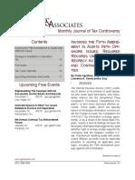 Agostino and Associates, Newsletter, November 2016