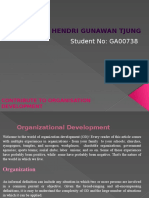 ASSIGNMENT 1 Contribute to Organization Development