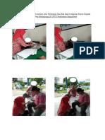 Dokumentasi Pengisian Kuesioner Alur Pelayanan Dan Hak Pasien Kepada Pasien Yang Berkunjung Di UPTD Puskesmas Sampolawa