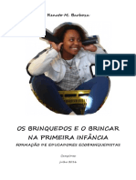 OS BRINQUEDOS E O BRINCAR -  Formação de Educadores Ecobrinquedistas por Renato M. Barboza