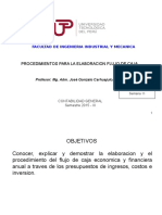 Semana 11 Presupuestos Mypes Para La Elaboracion Del Flujo de Caja 25103