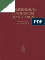 Compendium Linguarum Iranicarum Schmitt 1989