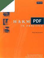 Harmony in Practice
