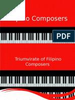 Filipino Composers