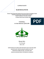 Laporan Kasus Bartholinitis Fix Bgt