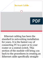 6 Creating Ethernet Cable
