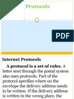 7 Internet Protocols