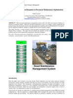 Linard_2000-ICSTM_System Dynamics & Road Pavement Maintenance Optimization