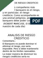 Analisis de Riesgo Crediticio