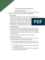 Strategi Dan Organisasi Bisnis Internasional