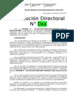 RD Modelo Municipio Escolar 2015