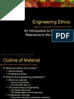 Ethics Module engineering