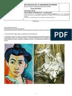 Examen Historia Del Arte