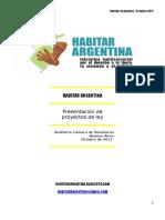 Argentina Habitat III