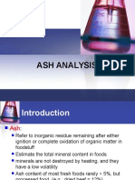 Ash Analysis (Topic 6 )
