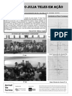 Jornal Da Turma Do Julia Teles (2 Edição)